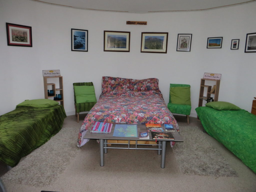interior of UGH beds